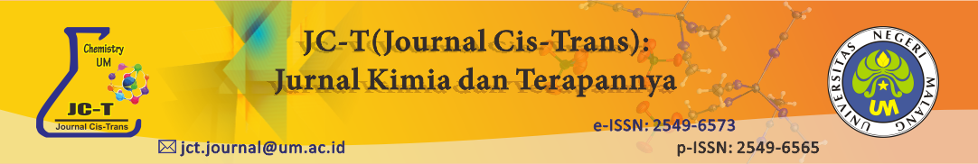 JC-T (Journal Cis-Trans): Jurnal Kimia dan Terapannya