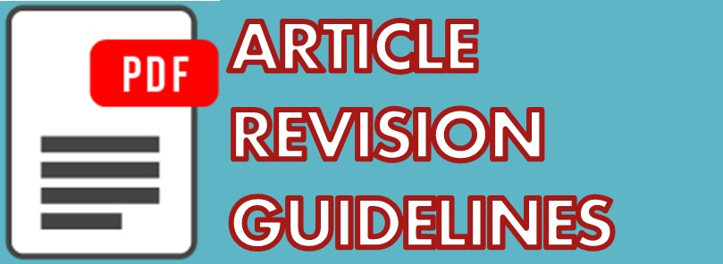 ARTICLE REVISION GUIDELINES